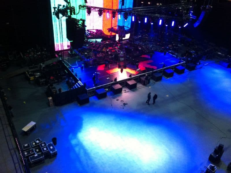 Concert Flooring
